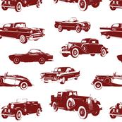 Red Vintage Cars