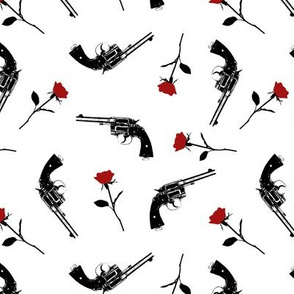 Guns & Red Roses // Small