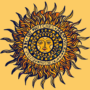 Southwest Folk Art Sun