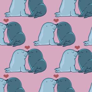 Seal Kisses