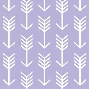 Lavender arrow