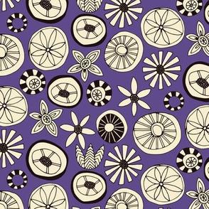 summer flowers purple small