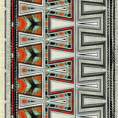 Loomed Latch Key fabric by joanmclemore on Spoonflower - custom fabric
