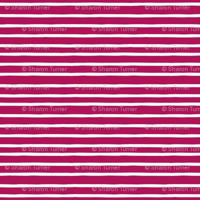 summer stripe pink white