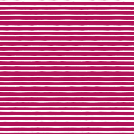 summer stripe pink white fabric by scrummy on Spoonflower - custom fabric