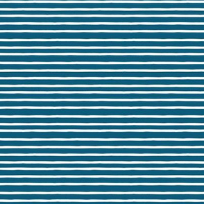 summer stripe blue white