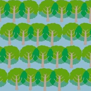 farm trees_summer time greens