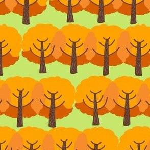 farm trees fall_orange leaves 2