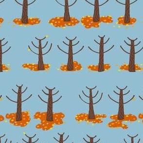 farm trees autumn_orange leaves fallen 2