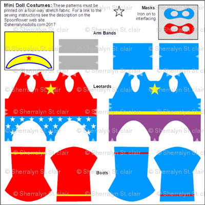 Mini Doll Costumes