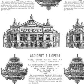 Accident a L'Opera white