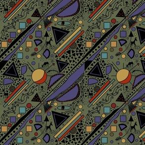 African Memphis Art by Salzanos
