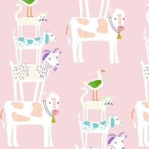 farm stack_print single_petal
