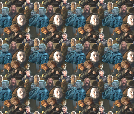 GoT funny scenes fabric by smelinkoff on Spoonflower - custom fabric