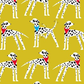 Dalmation Nation (yellow)