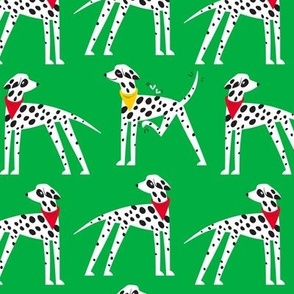 Dalmation Nation (green)