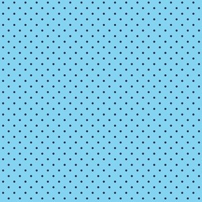 Blue polka dots for Evil eyes