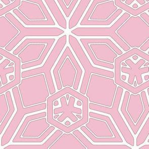Petals on Dusky Pink