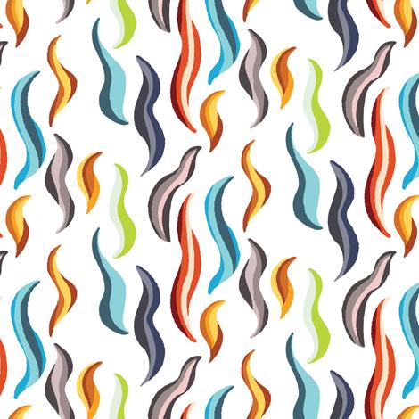 Ndlamu Dance Light Colorway fabric by enariyoshi on Spoonflower - custom fabric
