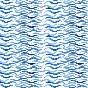 Wavy Watercolor Water