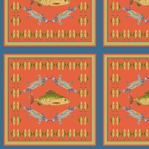 Fish Crab placemat