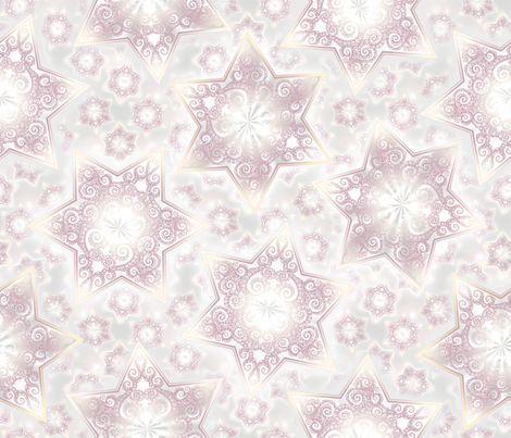 Stars On Stage fabric by pearlposition on Spoonflower - custom fabric