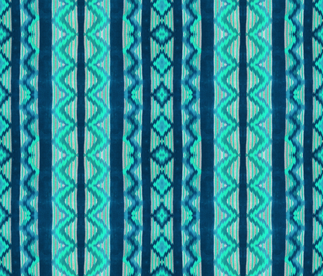 Navajo colors 71 fabric by hypersphere on Spoonflower - custom fabric