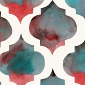 Watercolor Arabesques