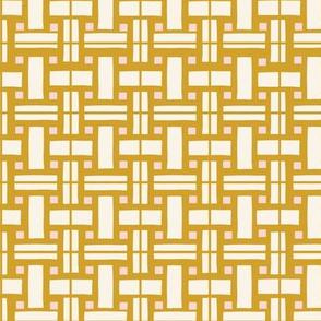 Le Parc Mosaic (mustard)