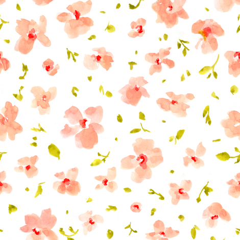 Field Florals fabric by angiemakes on Spoonflower - custom fabric
