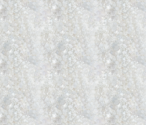 Stones // White Apophyllite Crystal Mineral fabric by stars_and_stones on Spoonflower - custom fabric
