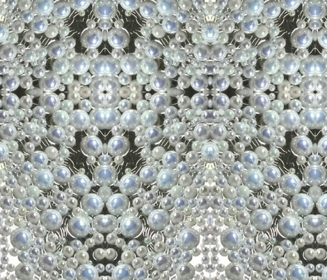 Pearls Galore fabric by campbellembroidery on Spoonflower - custom fabric