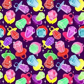 Ring Pops | Sparkle | Purple