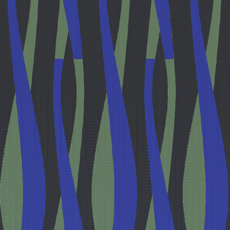 Tuberia (Noir) fabric by david_kent_collections on Spoonflower - custom fabric