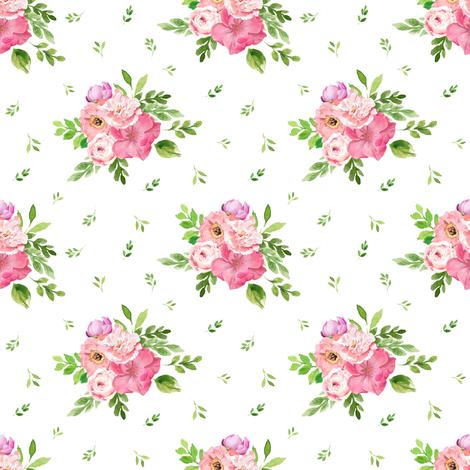 "4"" BEST FRIEND FLORALS fabric by shopcabin on Spoonflower - custom fabric"