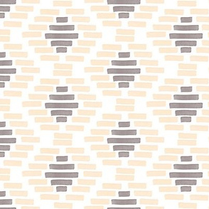 African Geometric Pattern Blush