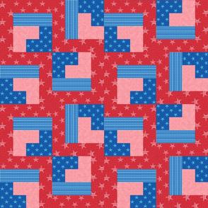Stars and Stripe Steps
