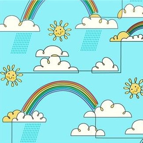 One-liner Rainbow