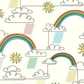 One-liner Rainbow Light