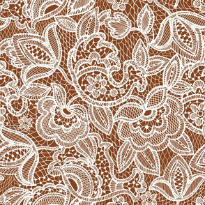 lace // cinnamon