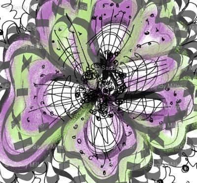 Purple flower lll
