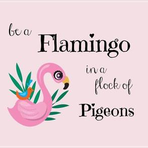 be a flamingo mini lovey