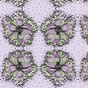 Purple flower ll/lavender
