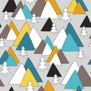 Arctic Animals Coordinate (Triangles)