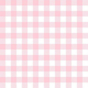 buffalo plaid white and pink woodland nature camping nursery fabric