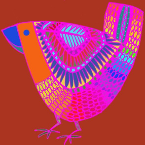 Agridulce Folk Art Bird