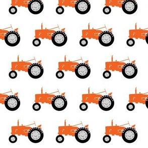 tractors - tractor orange