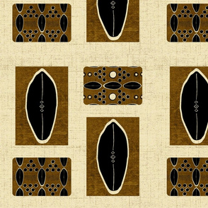 mud cloth-African Linen