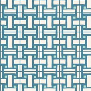 Le Parc Mosaic (blue)
