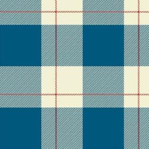 French Blue Plaid